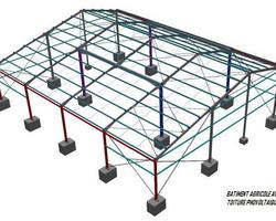 Ti 3D - Montdragon - Construction métallique générale