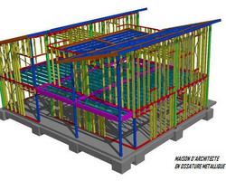 TI3D - Maison ossature acier Steeldar - Maison 3