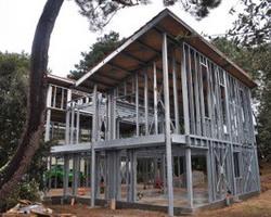 Ti 3D - Montdragon - Maison ossature acier ; Steeldar - Maison 3