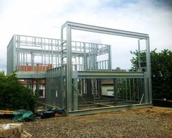 TI3D - Maison ossature acier ; Steeldar - Chantier 1